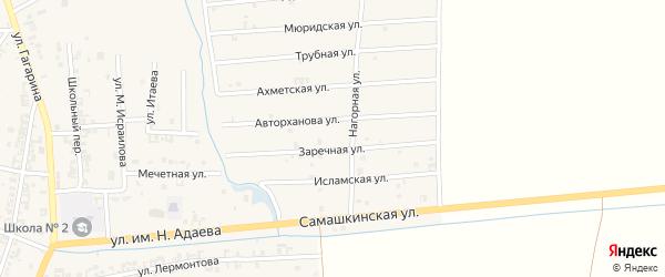 Трубная улица на карте Серноводского села с номерами домов
