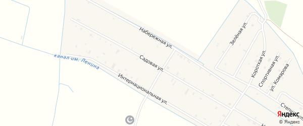 Садовая улица на карте села Алпатово с номерами домов