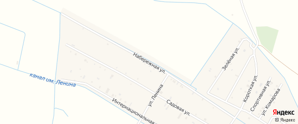Набережная улица на карте села Алпатово с номерами домов