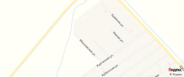 Родниковая улица на карте села Ачхой-мартана с номерами домов