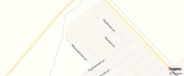 Учительская улица на карте села Ачхой-мартана с номерами домов