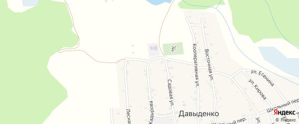 Улица Х.Нурадилова на карте села Давыденко с номерами домов