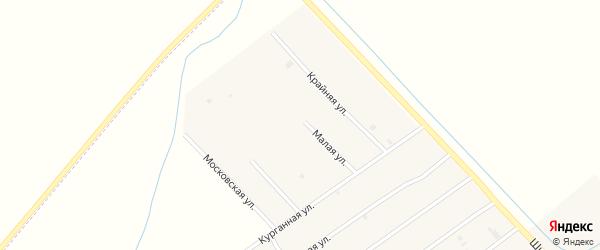 Дальняя улица на карте села Ачхой-мартана с номерами домов