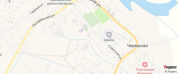 Улица Титова на карте села Черевково с номерами домов