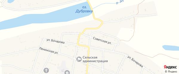 Советская улица на карте села Солодники с номерами домов