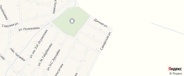 Балтийская улица на карте села Ачхой-мартана с номерами домов