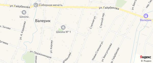 Улица Х.Нурадилова на карте села Хамби-Ирзи с номерами домов