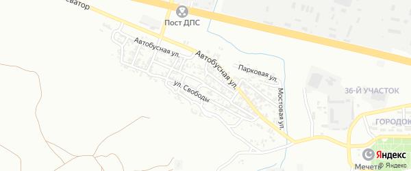 Улица Энгельса на карте Грозного с номерами домов