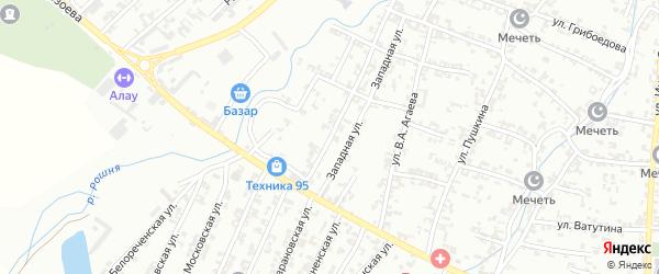 Магаданская улица на карте Урус-мартана с номерами домов
