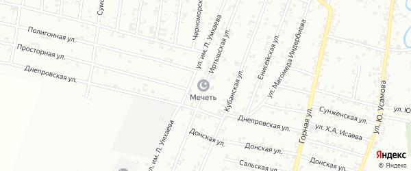 Иртышская улица на карте Урус-мартана с номерами домов