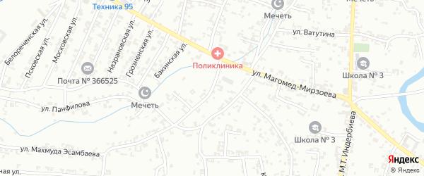 Полевая улица на карте села Гой-чу с номерами домов