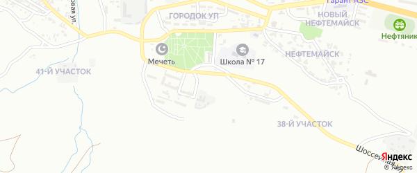 36-й участок на карте Грозного с номерами домов