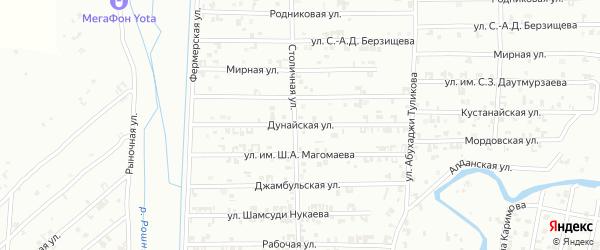 Целиноградская улица на карте Урус-мартана с номерами домов