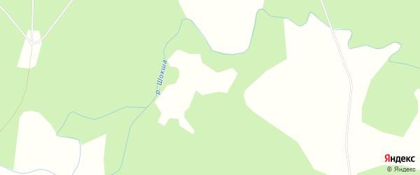 Карта Муравинской деревни в Архангельской области с улицами и номерами домов