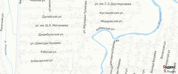 Алданская улица на карте Урус-мартана с номерами домов