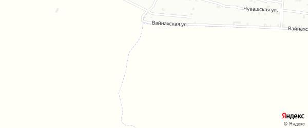 Микроучасток 2-й переулок на карте села Гой-чу с номерами домов