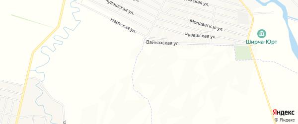 Карта села Танги-Чу в Чечне с улицами и номерами домов