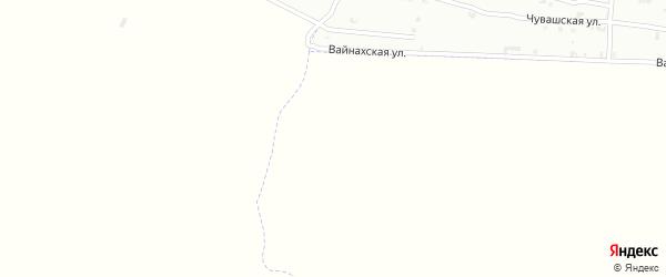 Улица А.А.Гарсиева на карте села Танги-Чу с номерами домов