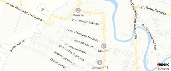 Ростовская улица на карте Урус-мартана с номерами домов