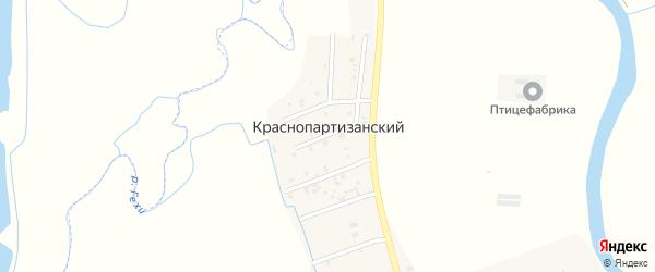 Улица М.Сулеймановой на карте Краснопартизанского поселка с номерами домов