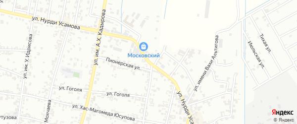 Улица Н.Усамова на карте Урус-мартана с номерами домов