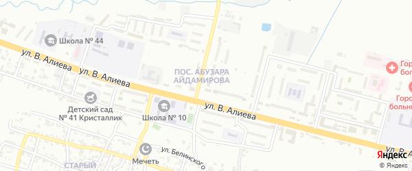 Городок Маяковского на карте Грозного с номерами домов