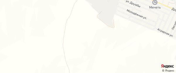 Карта поселка Дружбы в Чечне с улицами и номерами домов