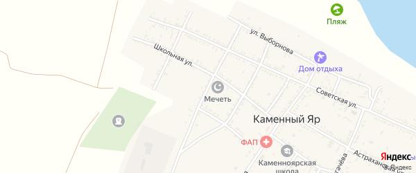 Г.Тукая улица на карте села Каменного Яра с номерами домов