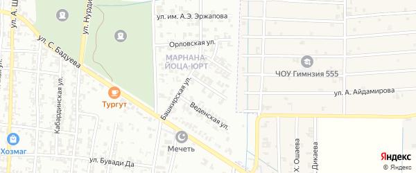Молодежная улица на карте Урус-мартана с номерами домов