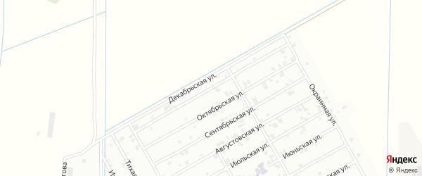 Ноябрьская улица на карте Урус-мартана с номерами домов