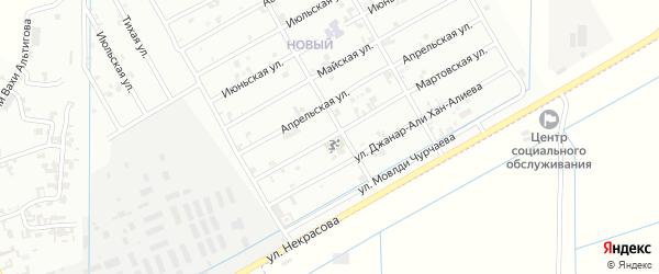 Мартовская улица на карте Урус-мартана с номерами домов
