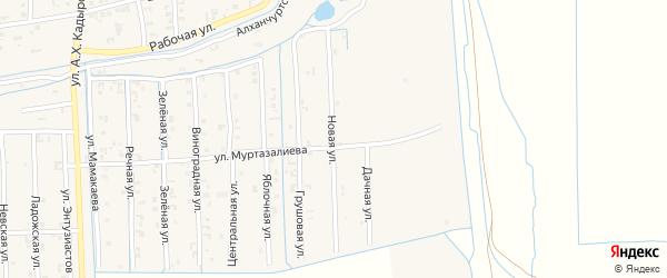 Новая улица на карте Садового села с номерами домов