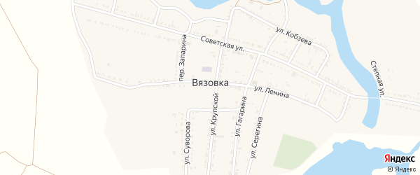 Животноводческая точка ОТФ Сучкино на карте села Вязовки с номерами домов