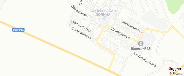 Сормовская улица на карте Грозного с номерами домов