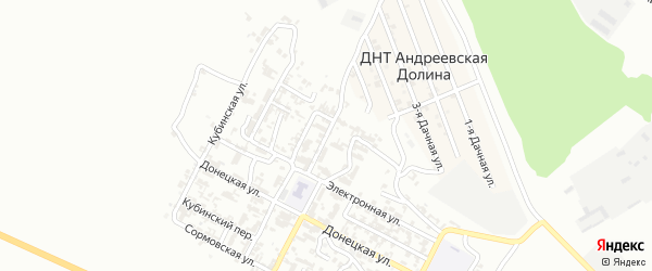Электронный переулок на карте Грозного с номерами домов