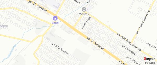 Улица Заветы Ильича на карте Грозного с номерами домов