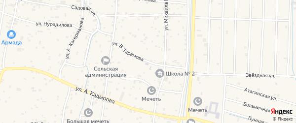 Улица И.Тарамова на карте села Гойты с номерами домов