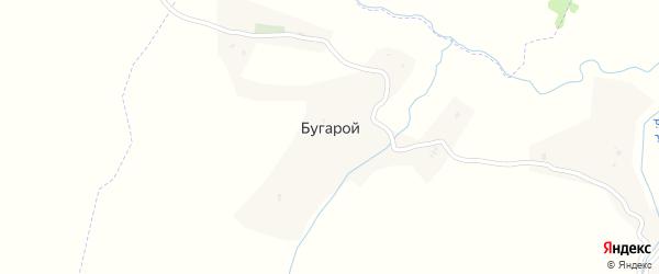 Улица Гехиева Мумади на карте села Бугарой с номерами домов