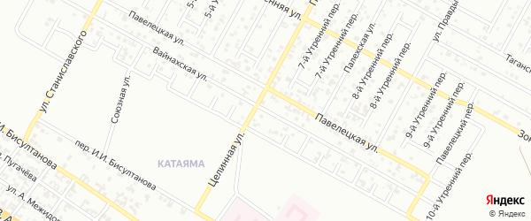 Вайнахская улица на карте Грозного с номерами домов