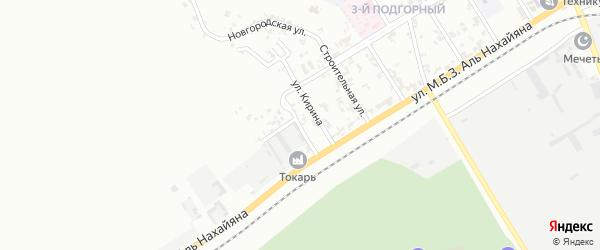 Улица Жулова на карте Грозного с номерами домов