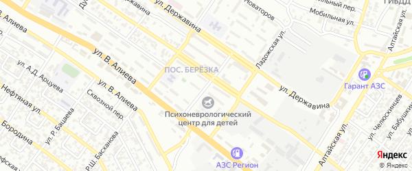 Улица им 84 Псковских десантников на карте Грозного с номерами домов