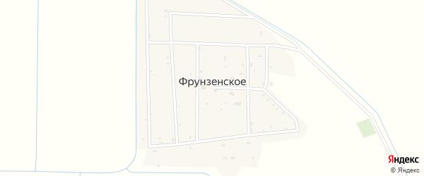 Улица Нурадилова на карте Фрунзенского села с номерами домов