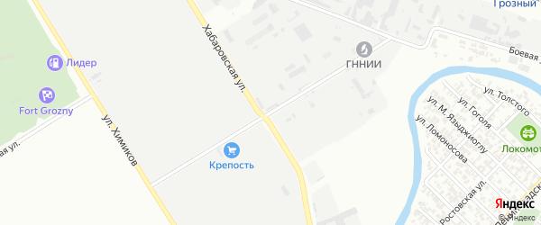 Улица им Братьев Дубининых на карте Грозного с номерами домов