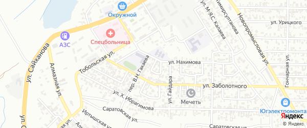 Улица им И.Ф.Соболева на карте Грозного с номерами домов