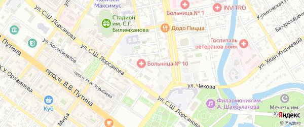 Улица им М-С.Гадаева на карте Грозного с номерами домов