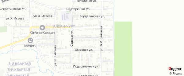 Балкарская улица на карте Грозного с номерами домов
