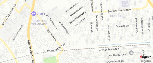 Литейная улица на карте Грозного с номерами домов