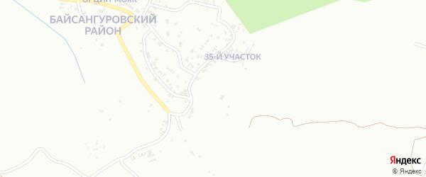 35-й участок на карте Грозного с номерами домов