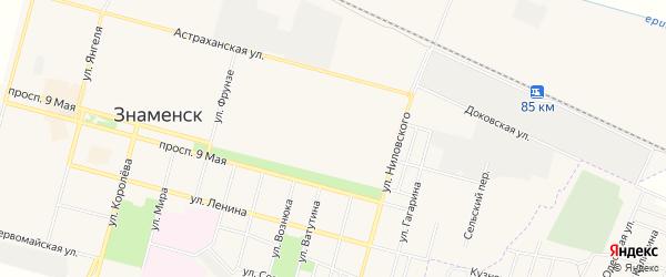 Территория Сооружение дорожного транспорта 1 на карте улицы Жилой район Ракетный с номерами домов