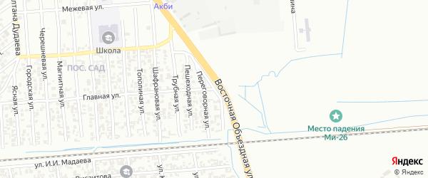Низинная улица на карте Грозного с номерами домов